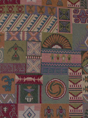 Southwest Upholstery Fabric Vistas Z-874, Southwest Upholstery Fabric