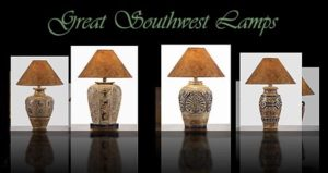 Great Southwest Style Lamps
