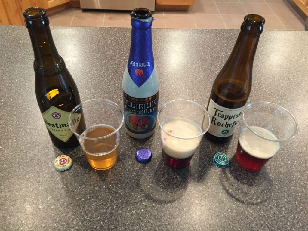 Taking a virtual trip to Belgium during the final week of the four-week Beer Tasting Mastery course.