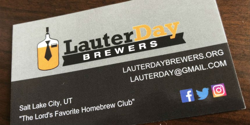 Lauter Day Brewers Utah Beer News