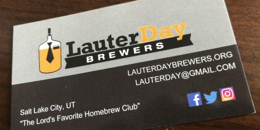 Lauter Day Brewers Utah Beer News