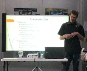 Brewer Paul Konopelski, of Bohemian Brewery, presents the ins and outs of lagering.