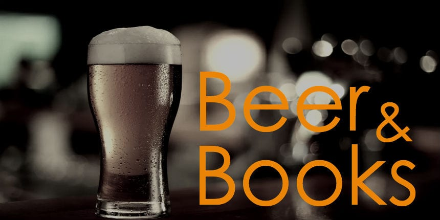 Beer and Books Logo