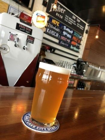 Pale No. 8 - Fisher Brewing - Tuesday Tasting - Utah Beer News