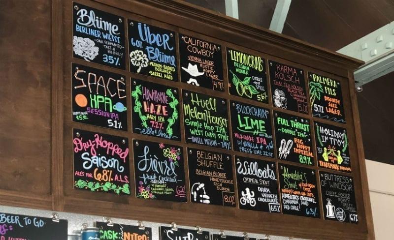 Hawthorne Beach Beers - L.A. Ale Works