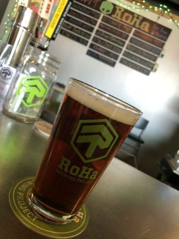 RoHa Brewing Project collaborated with Salt Lake City Firefighters Local 81 on the Maltese Cross Red Ale.