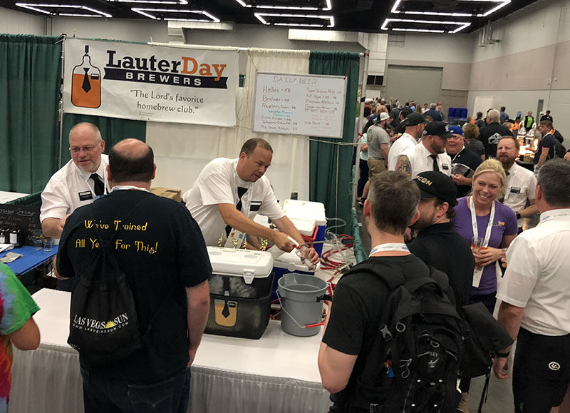 Utah's own Lauter Day Brewers were a hit at Club Night at Homebrew Con 2018.