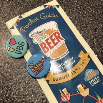 Utah Beer Festival 2018 - Pocket Guide
