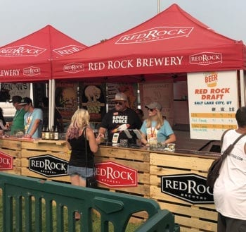 A Lime Gose from Red Rock Brewery proved the be the perfect way to start out each day of the Utah Beer Festival.