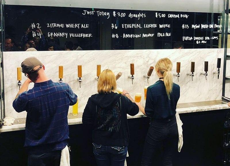 T.F. Brewing - Pouring Beer - Utah Beer News