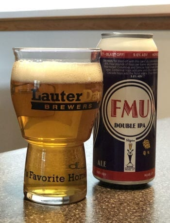 Tastings - FMU Double IPA - Moab Brewery