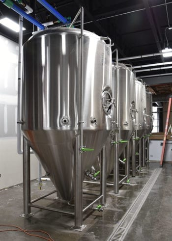 Level Crossing Brewing - Fermentors