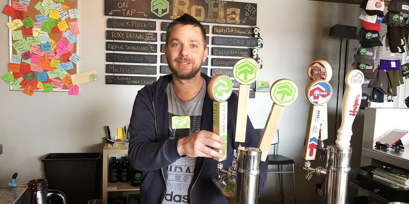 Matthew Brown - RoHa Brewing Project - Featured - Utah Beer News