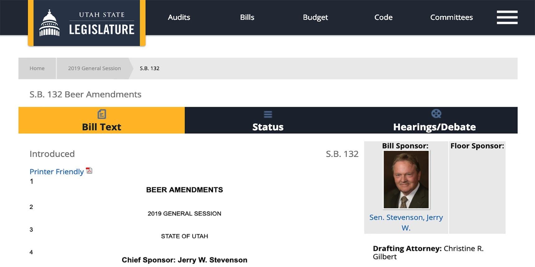 Utah 3.2% Beer Law - Utah Beer News