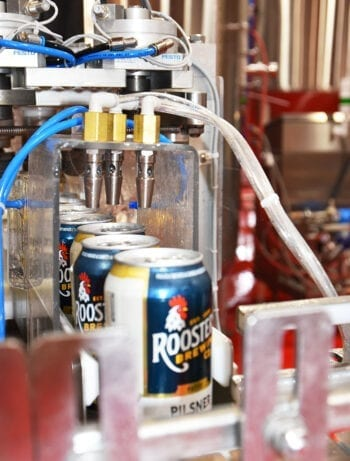 Roosters Brewing - Canning Line - Utah Beer News