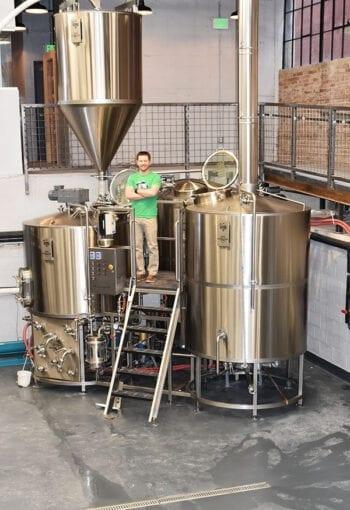 UTOG Brewing - Carson Foss Brew Pit Vertical - Utah Beer News