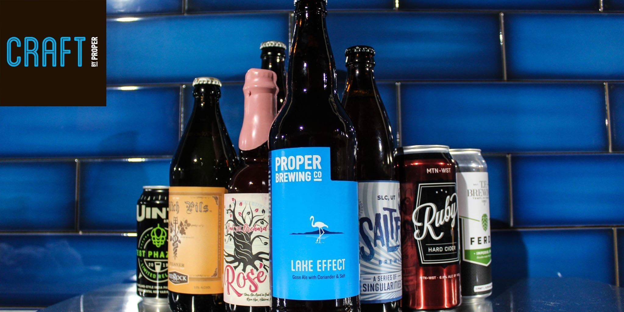 Craft by Proper - Utah's Only Utah-Only Beer Bar