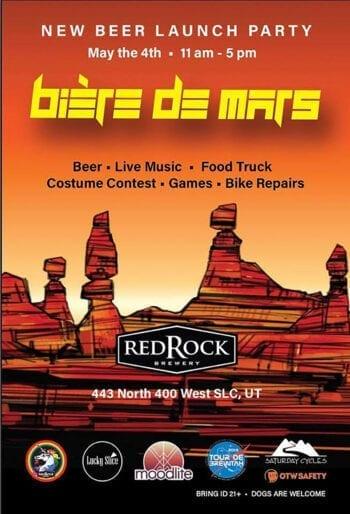 Red Rock Biere de Mars Release - Beer Events - Utah Beer News