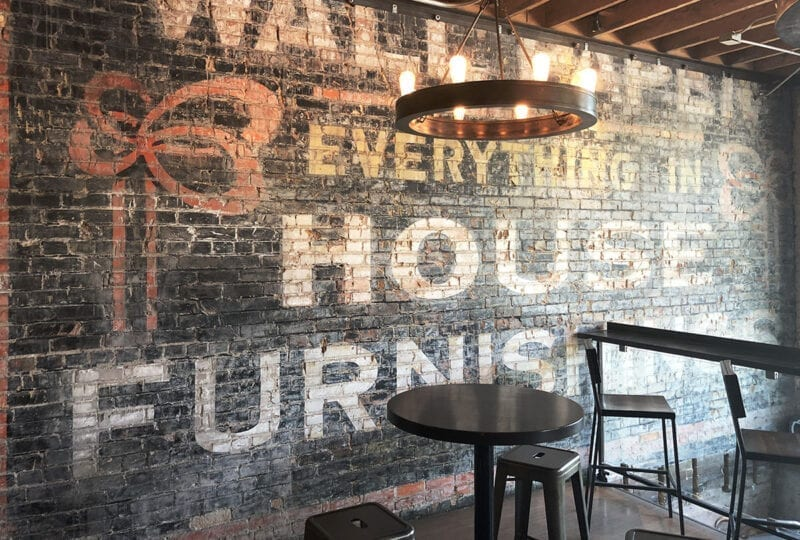 Hopkins Brewing Co. is located in what used to be the old Granite Furniture building in Sugar House.