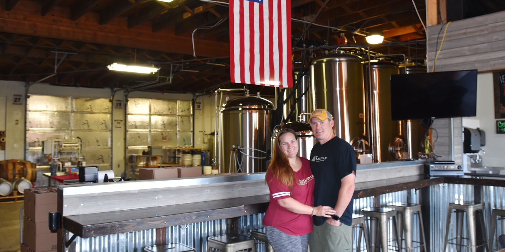 Talisman Brewing Company - Joann and Dusty Williams