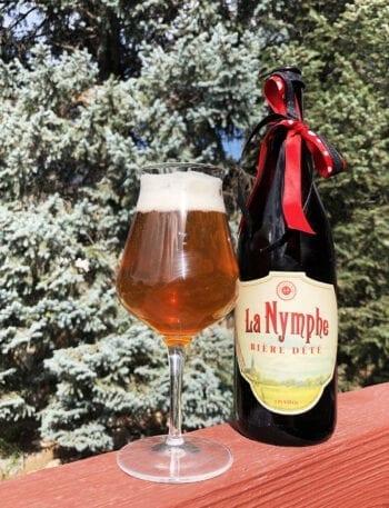 Beer Tastings - La Nymphe - Hoppers Grill and Brewing - Utah Beer News