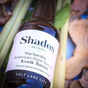 Utah's Shades Brewing won gold at the 2019 Great American Beer Festival (GABF) for its Thai Tom Kha American-Style Sour Ale. Photo Credit: Shades Brewing