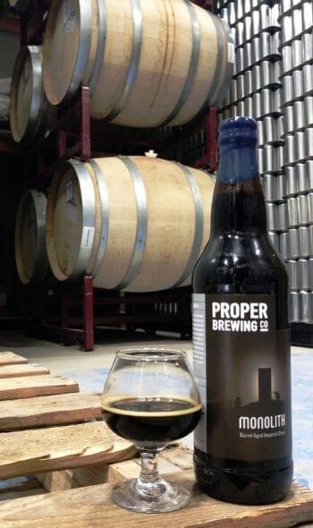 Beer Tastings: Monolith - Proper Brewing Co. | Utah Beer News