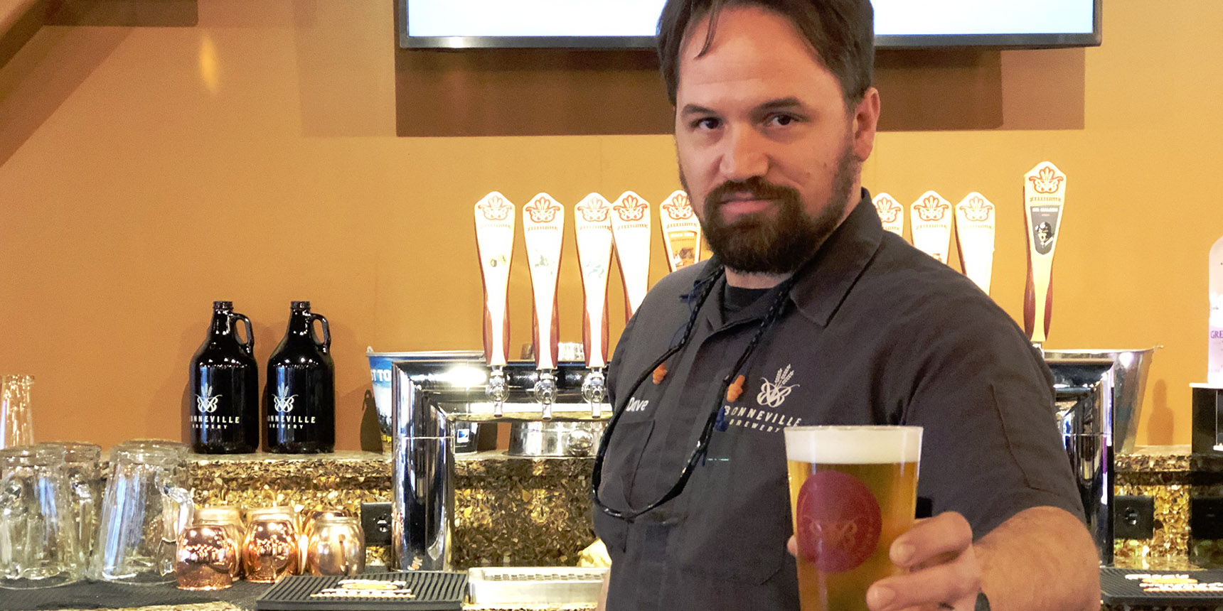 3 Beers with a Brewer   Dave Watson, Bonneville Brewery