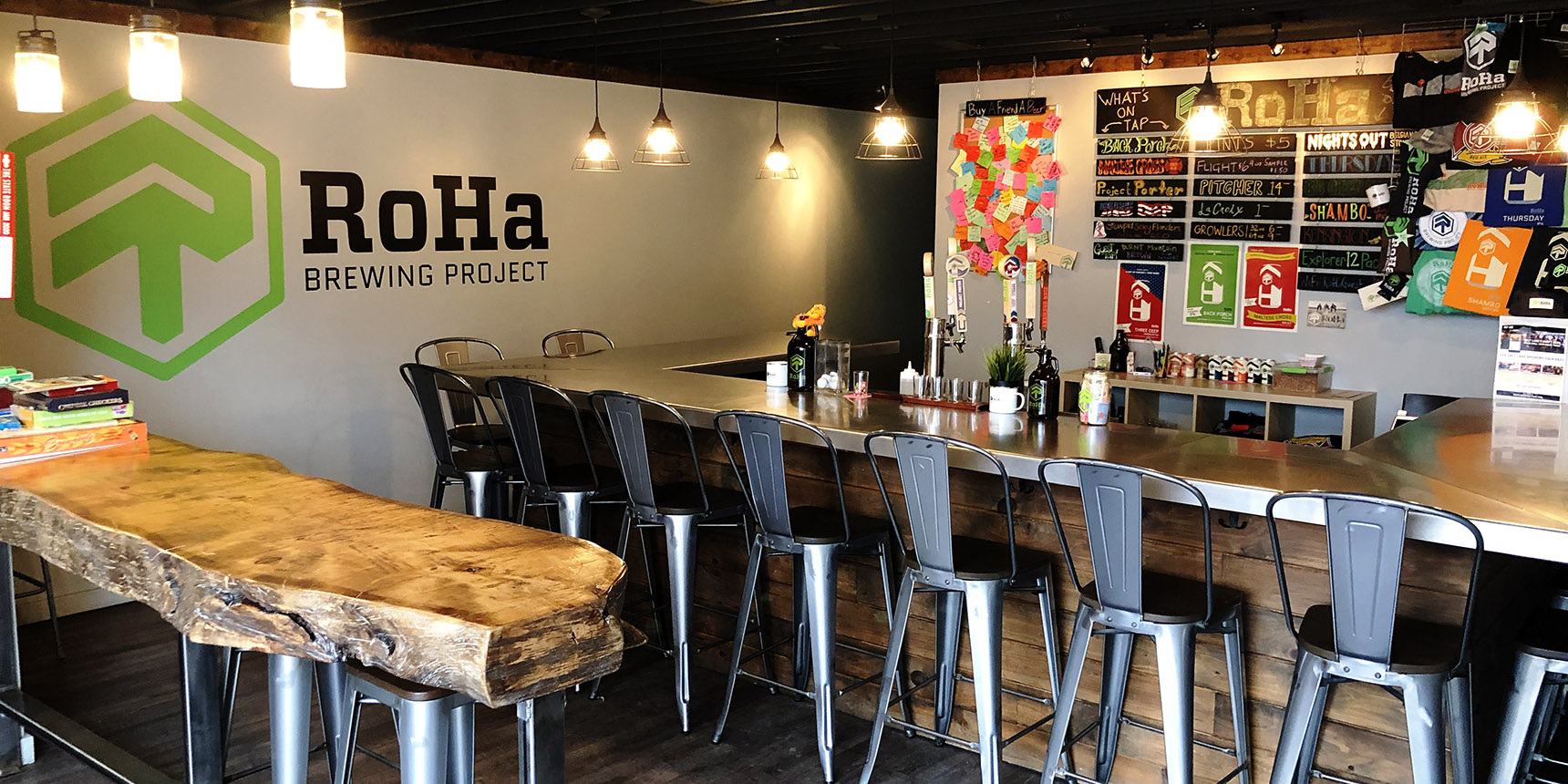 RoHa Brewing Project - Featured - Taproom - Utah Beer News