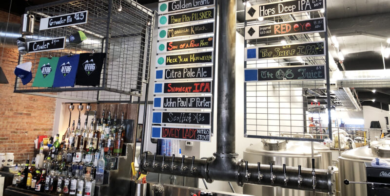 Ogden Beer - UTOG Brewing Tap List - Utah Beer News