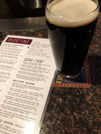 Schwarzbier, from Desert Edge Pub & Brewery.