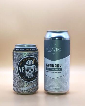 Bohemian Sir Veza - TF Kellerbier - 2020 Utah Beer News March Madness Beer Challenge