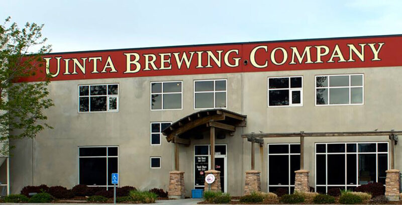 Uinta Brewing's production facility and pub in Salt Lake City. Photo Credit: Uinta Brewing