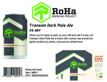 RoHa Transom Dark Pale Ale