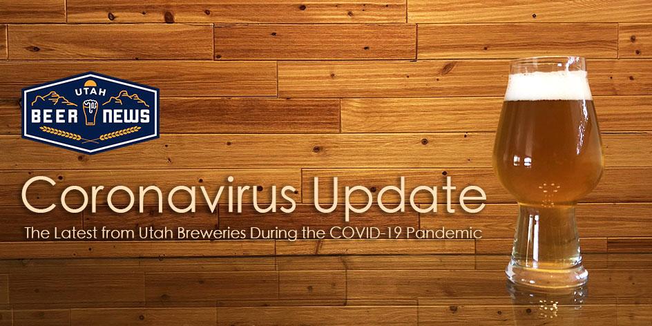 Utah Beer News - Coronavirus Update