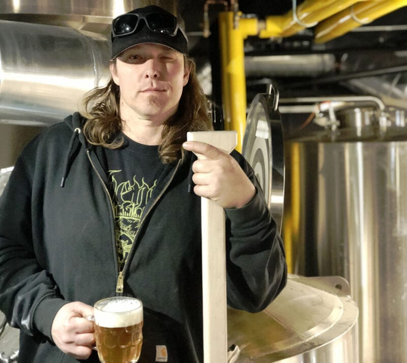 Grid City Beer Works Head Brewer Jeremy Gross