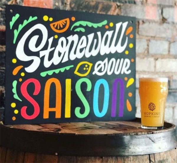 Stonewall Sour Saison by Hopkins Brewing