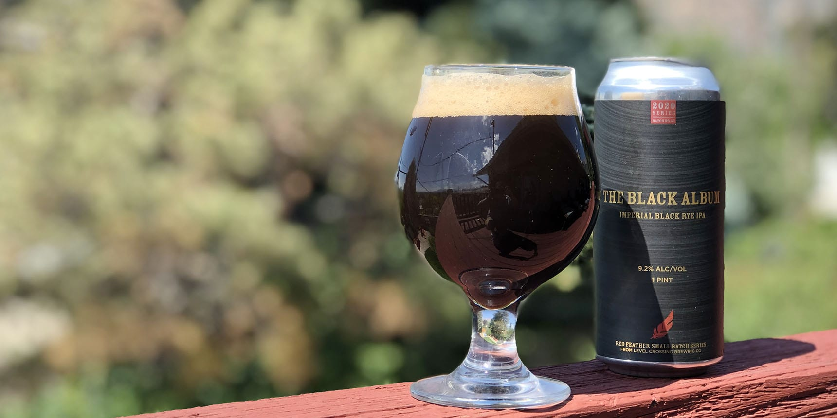 The Black Album - Level Crossing Brewing - Red Feather Small-Batch Series