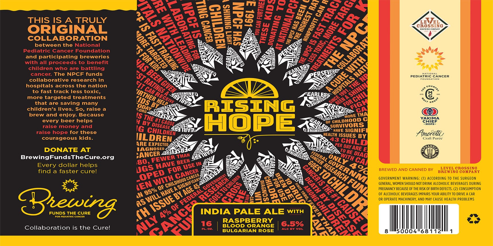 Rising Hope IPA - Level Crossing Brewing