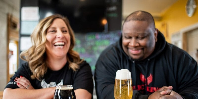 Sara and Dre Ridgel, owners of Policy Kings Brewery, are in the midst of a Kickstarter campaign to help the Cedar City brewery extend its reach beyond its taproom.