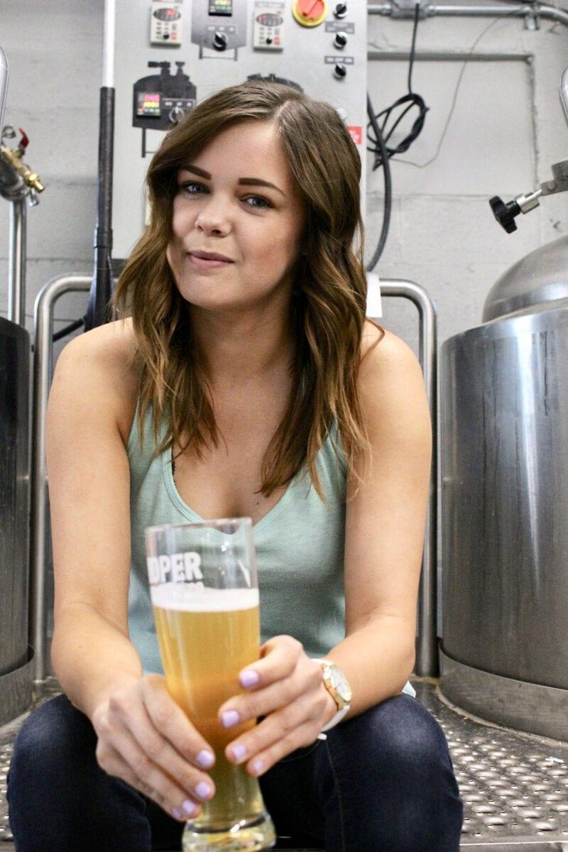 Rebecca Cardaccio, sales director for Proper Brewing Co.