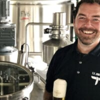T.F. Brewing Founder and Head Brewer Kevin Templin is a 25-year veteran of Utah craft beer. In 2018, he opened Templin Family Brewing in Salt Lake City.