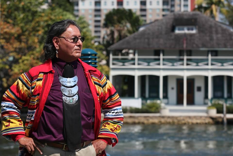 """Dedication of Nilda Comas' """"Florida: A Seminole Girl"""""""