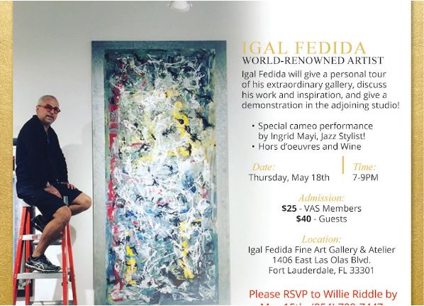Connoisseur Art Salon at Igal Fedida Gallery and Atelier