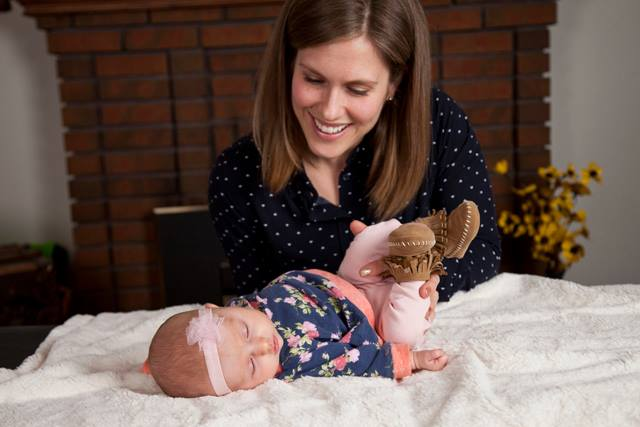 Osteopathic Treatment with infant