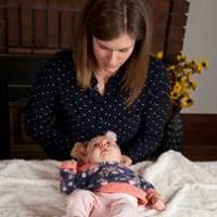 Cranial treatment on infant