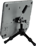 Isolight chart holder showing tripod mount in use