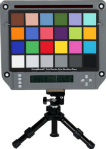 Isolight chart holder to check illuminance uniformity
