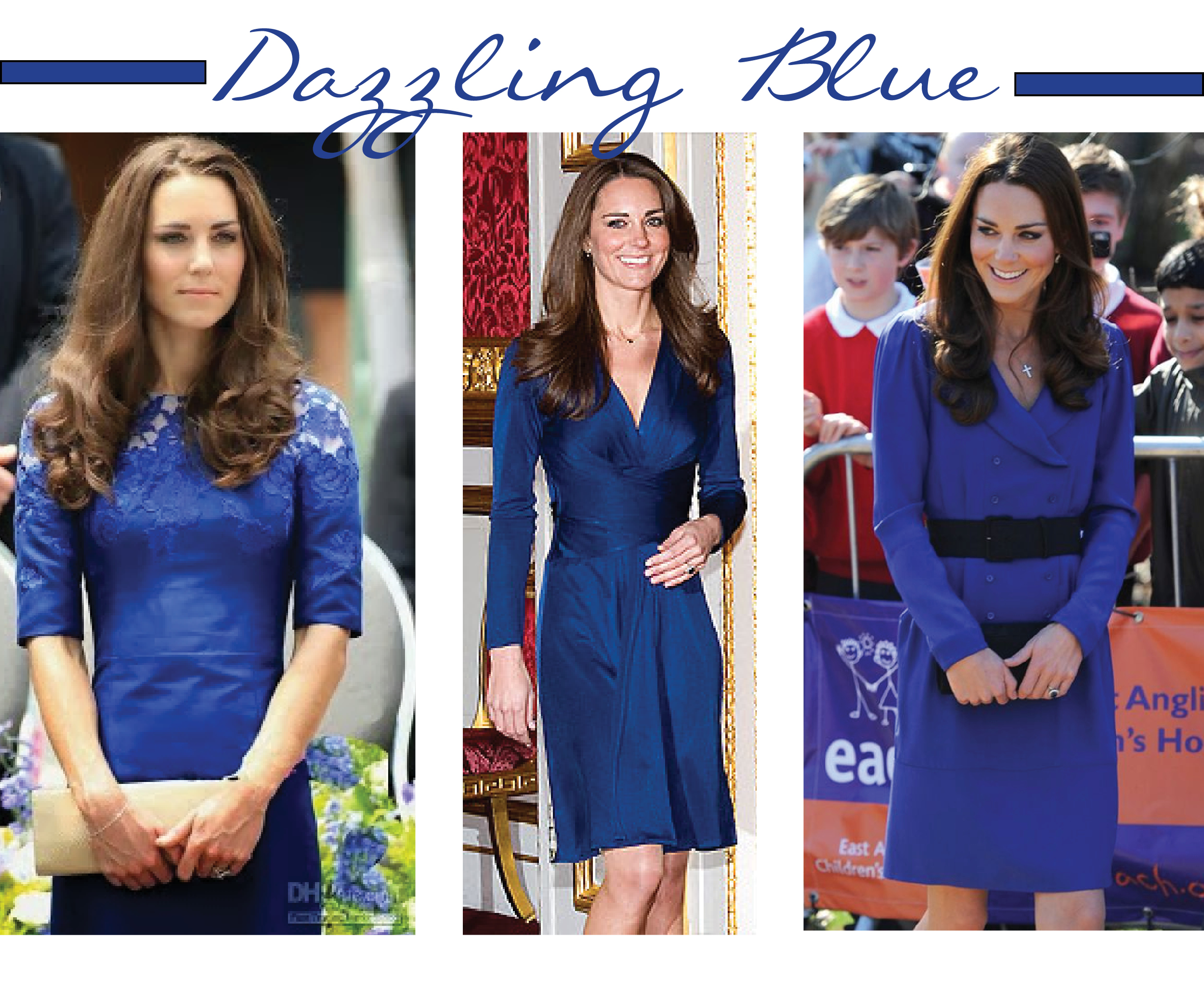 Dazzling Blue - kate middleton