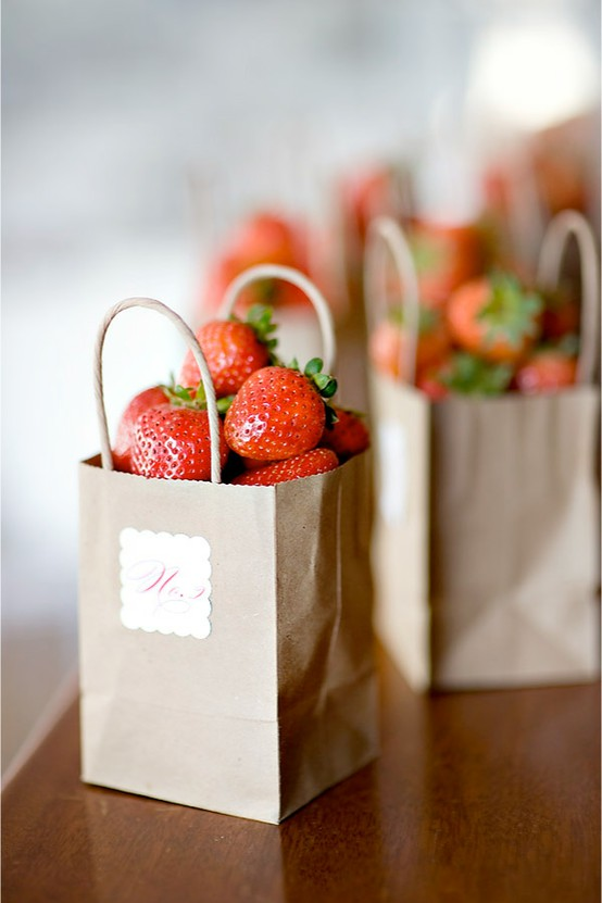 Strawberry-Wedding-Favors